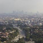 View of Downtown LA (Mulholland Drive)