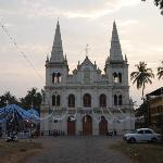 One of the many churches arounf Fort Kochi