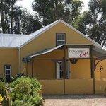 Cornberg Cottages and Cafe entrance