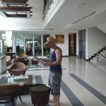 Checkin the paper in the lobby