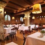 Luxury Hotel Goldener Hirsch, Restaurant s´Herzl
