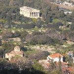 Blick zur Agora