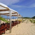 el restaurant en la playa