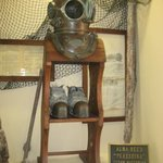 Antique diving gear