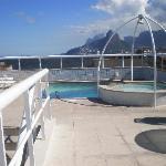 Vista desde azotea,(con piscina chica), hacia el lado de Ipanema