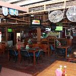 Attached bar restaurant