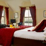 A Junior Suite overlooking Dingle Bay