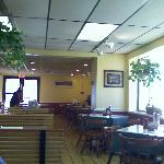 Dining area at Guilday's