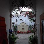 As you enter Villa del Villar