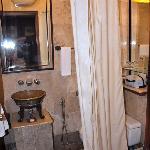 bathrooms are fancy