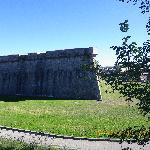Ancient walls of Citadel of Pamplona