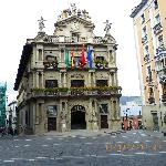 Pamplona city hall square