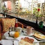 Frühstück mit Suk - Blick :-)