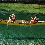 La rivière Bonaventure en canot ou en kayak.