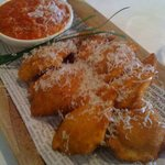 A St. Louis favorite, our Toasted Ravioli