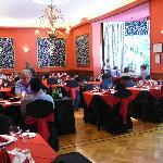 Indoor dining at Circolo Massimo
