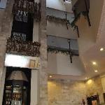 Hotel foyer area