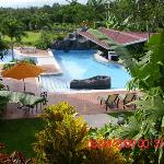 Here is a great view of the pool & property