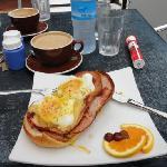 Bacon Benedict - DELICIOUS!