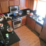 Our mess in the kitchen