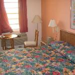 nice bed with firm mattress