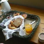 El increible desayuno!!