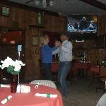 Owners Don & Linda two-steppin' at the Saloon!