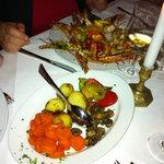 Gemüse ok, Portionen reichhaltig, Fisch enttäuschend
