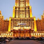 Radisson Royal Hotel, Moscow - Facade View