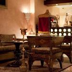 In interiors of Farsi Restaurant worthy of padishah