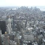 New York vista dall'alto
