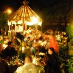 Evening Garden Wedding