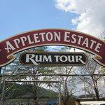 Entrance to rum tour