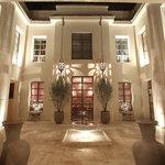 Riad Joya courtyard