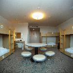 6 bunk room