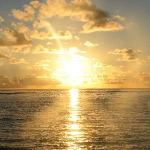 l'alba vista dal letto