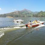 Motor boat tourist tours