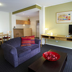 Each apartment is fully self contained with seperate living and dining area with fully equipped