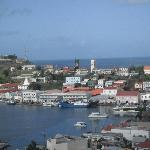 View of St. George's and the fort.