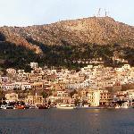 Panorama von Pothia, Kalymnos