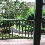 Hotel Deli river view to garden