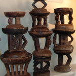 African Artefacts are available in addition to handmade and recycled goods