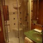 doccia idromassaggio funzionante