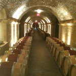 The wine caves at Hall Winery, Rutherford