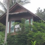 the house from the way to the beach