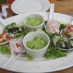 "Delicious fish starters of ""Piqueo frio"""