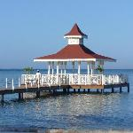 Gazebo on the beach resort