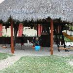 Shelterd playground in Kid's Club