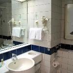 Cortyard bathroom