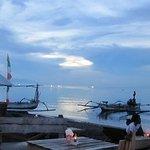 Anturan beach at sunset